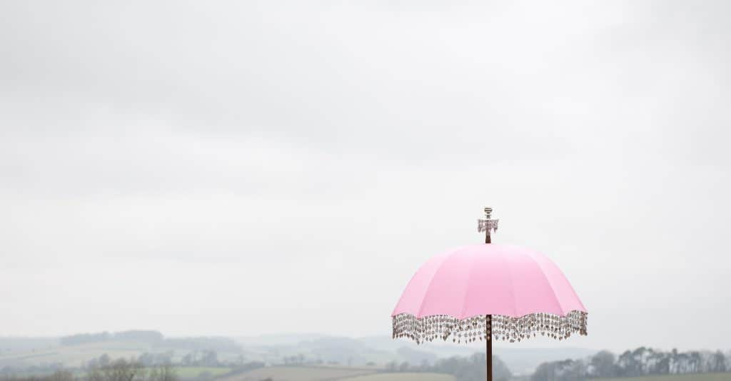 Axnoller pink umbrella