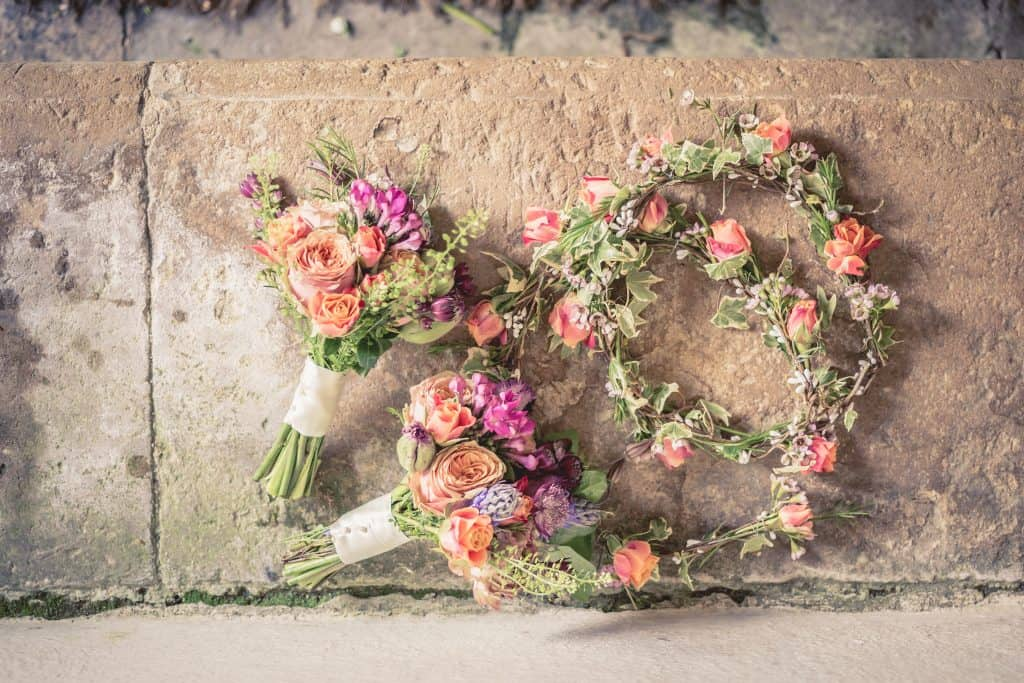 Bouquets with floral crown