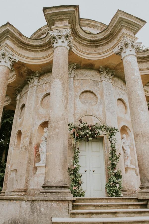 temple of apollo stourhead arch