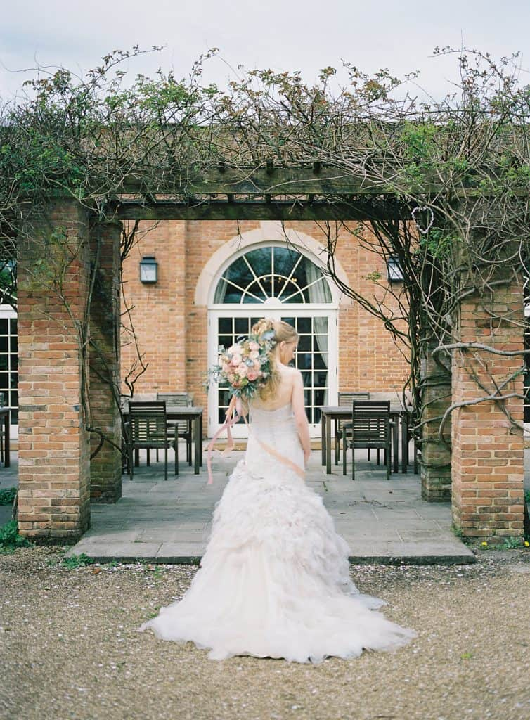 Bride charlton house orangery