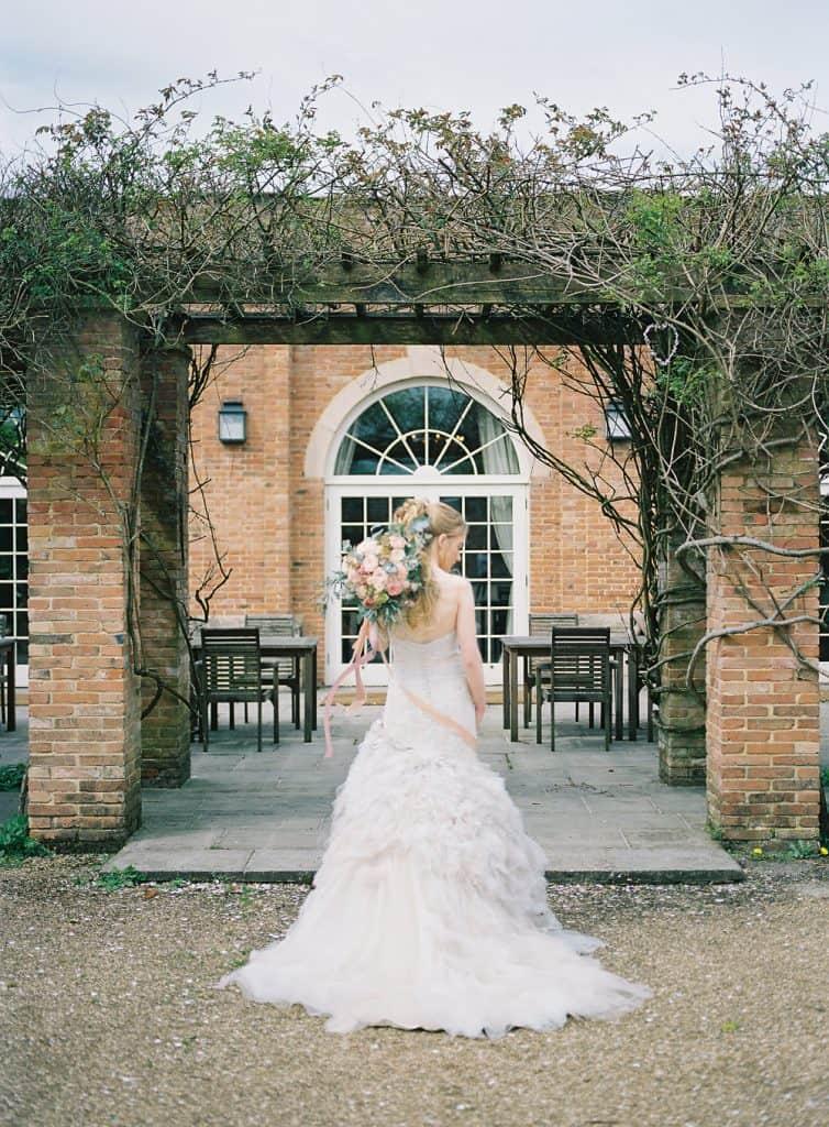 Bride charlton house orangery