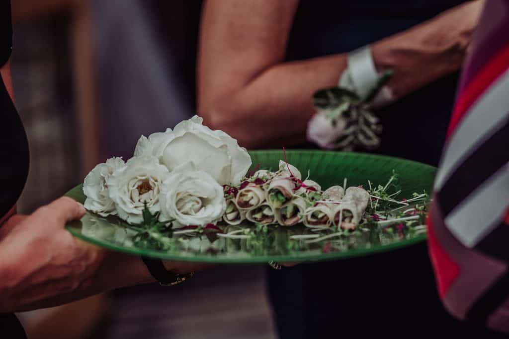 Canapes flowers victoria blashford snell