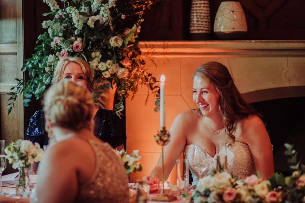 brides speech chaffeymoor grange flowers