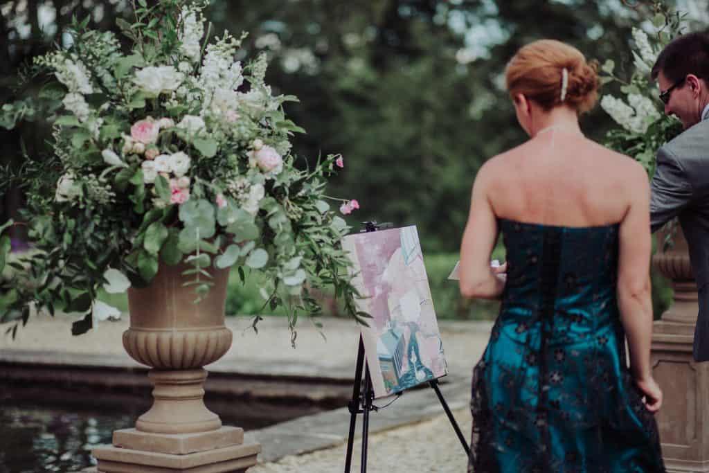 outdoor pedestals flowers