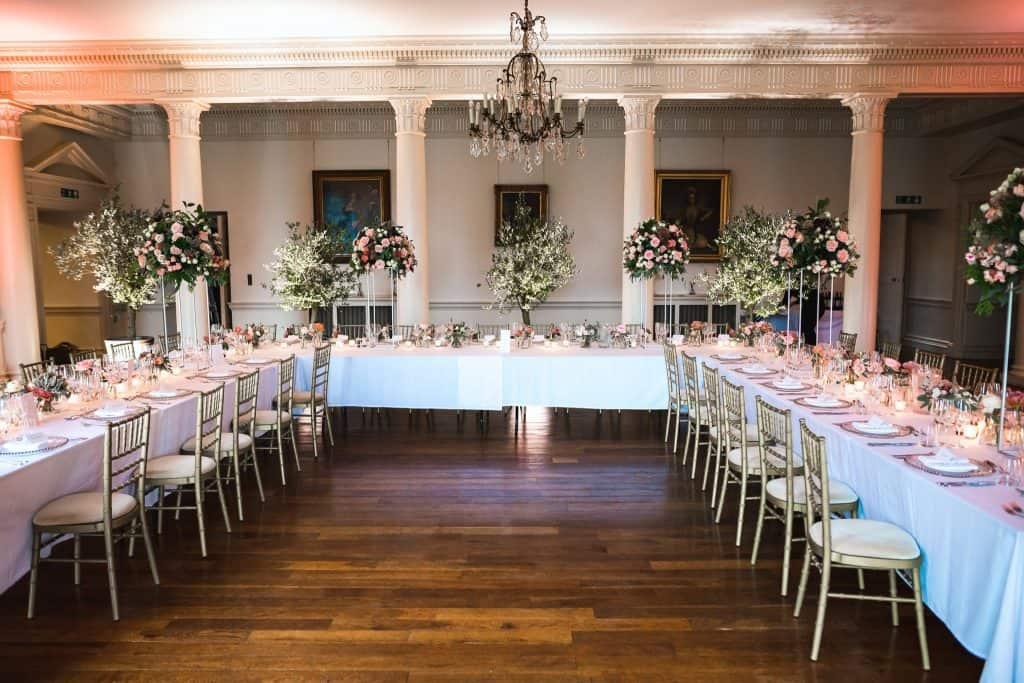 grand tablescape at north cadbury court