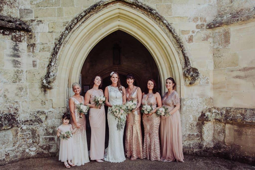 mere church wedding flowers