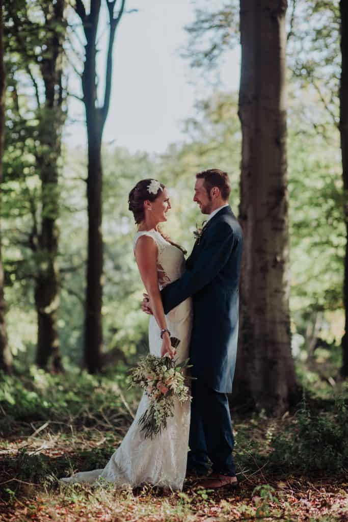 magical woodland wedding flowers