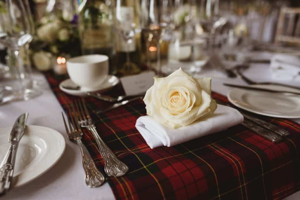 scottish inspired wedding flowers