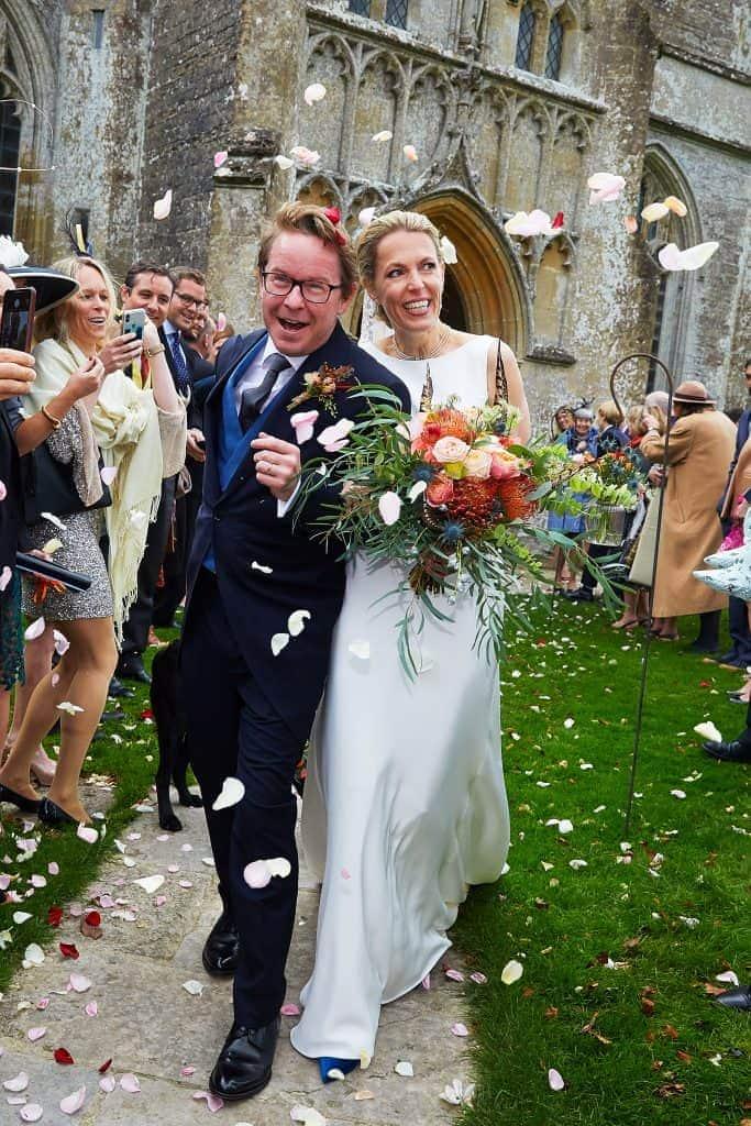 dorset wedding church flowers