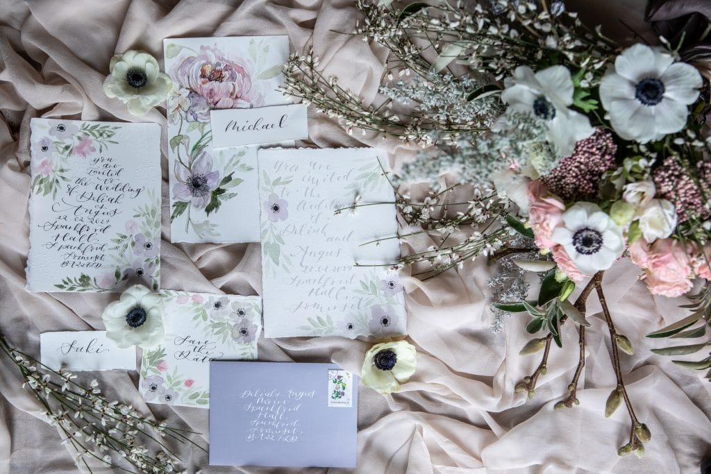 flick and flourish stationery