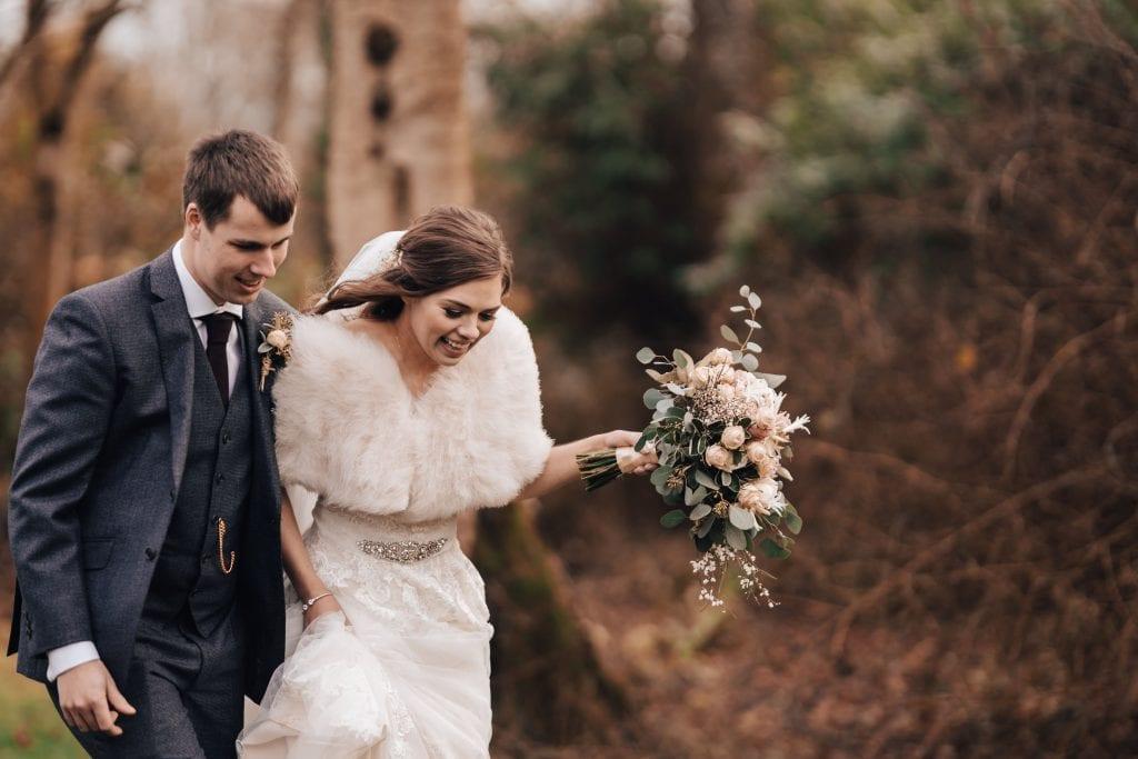 wedding flowers outside