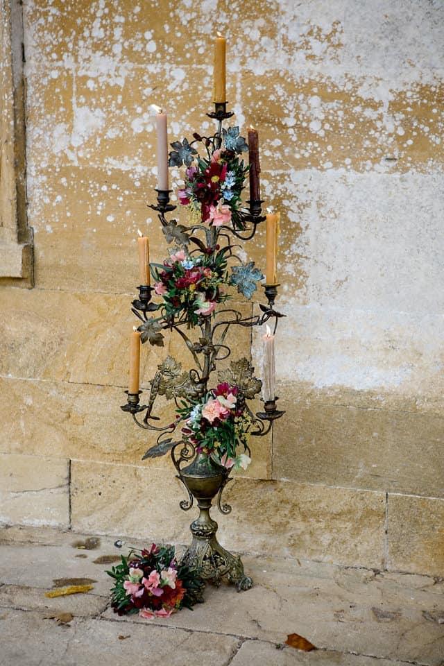 published wedding florist