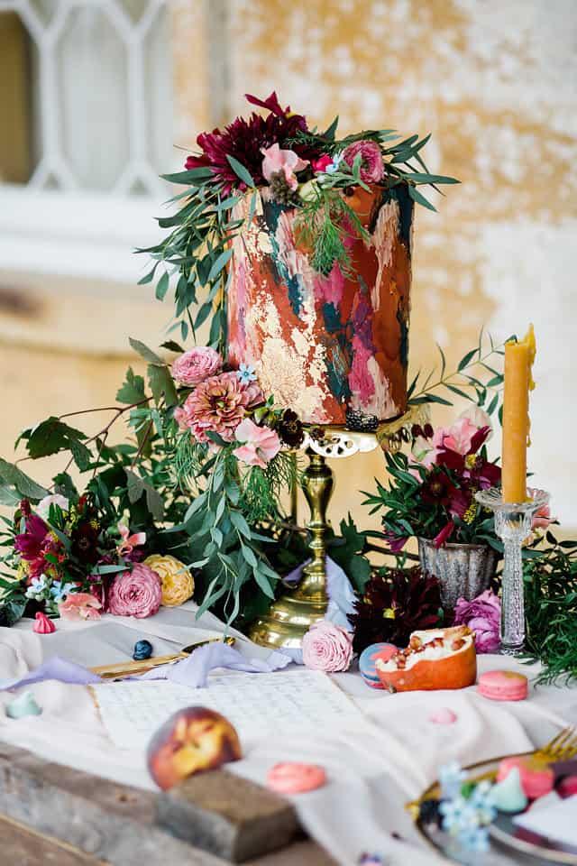 cake flowers for weddings