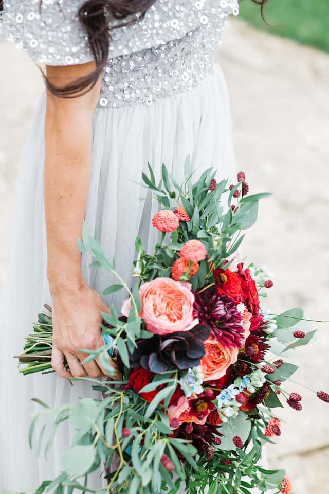 fine art wedding flowers