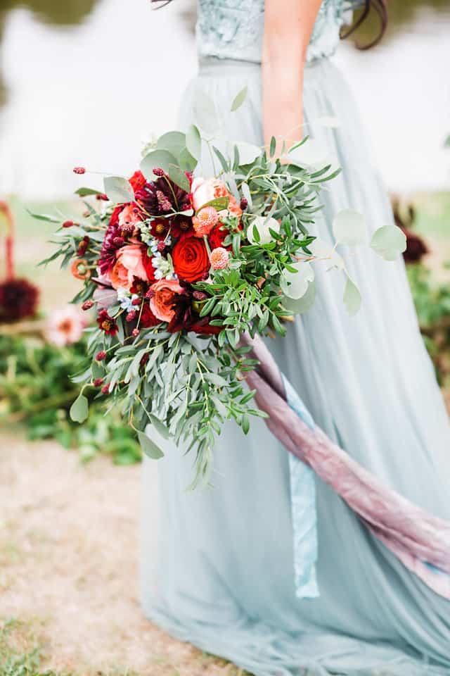 bridal bouquet somerset dorset
