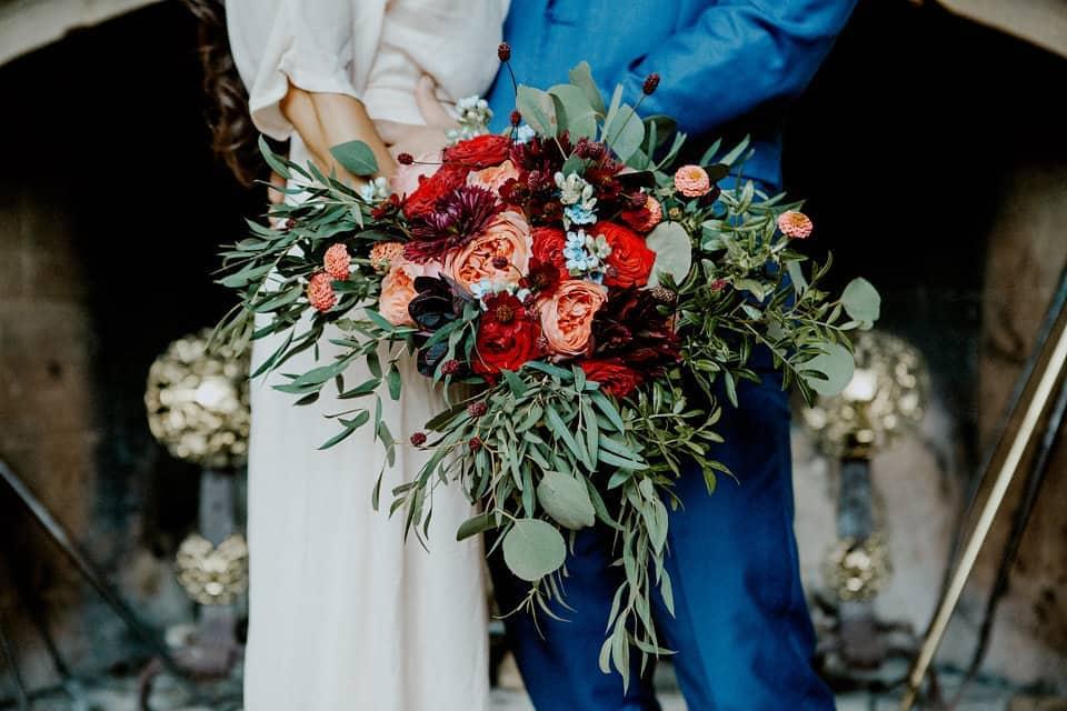 forde abbey somerset wedding flowers