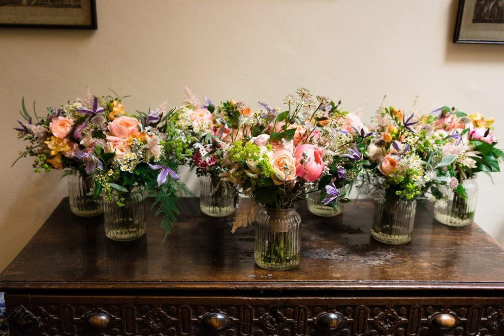 Dorset Somerset wedding flowers